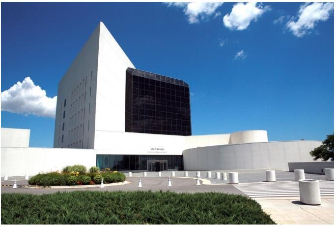 John F. Kennedy Presidential Library and Museum in Boston, Massachusetts